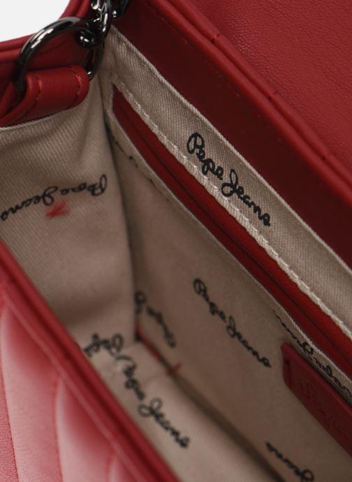 Sacs à main Pepe jeans Nicole Bag Rouge vue derrière