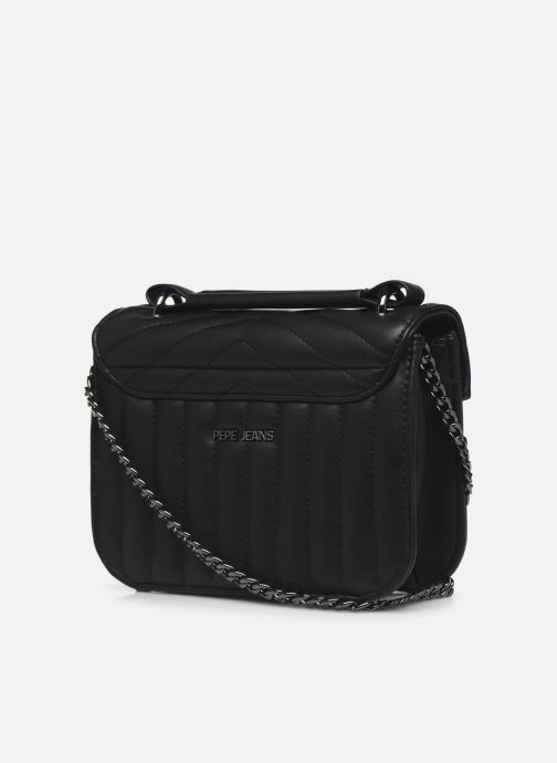 Handbags Pepe jeans Nicole Bag Black view from the right