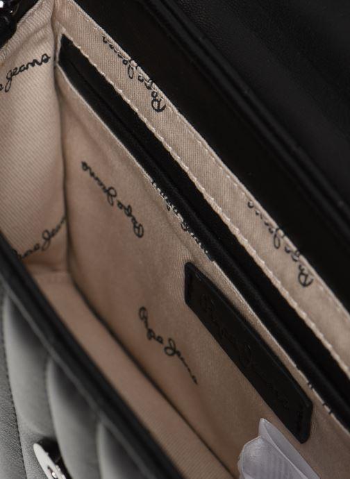 Handtaschen Pepe jeans Nicole Bag schwarz ansicht von hinten