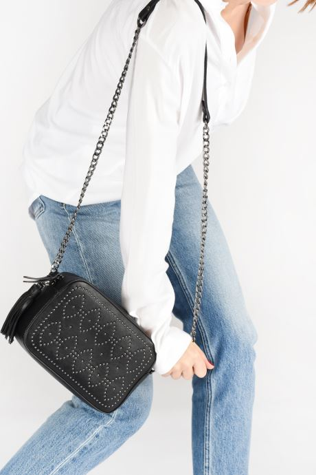 Sacs à main Pepe jeans Tanya Bag Noir vue bas / vue portée sac
