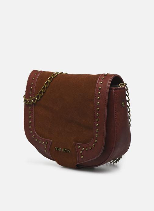 Handtaschen Pepe jeans Liona Bag braun schuhe getragen