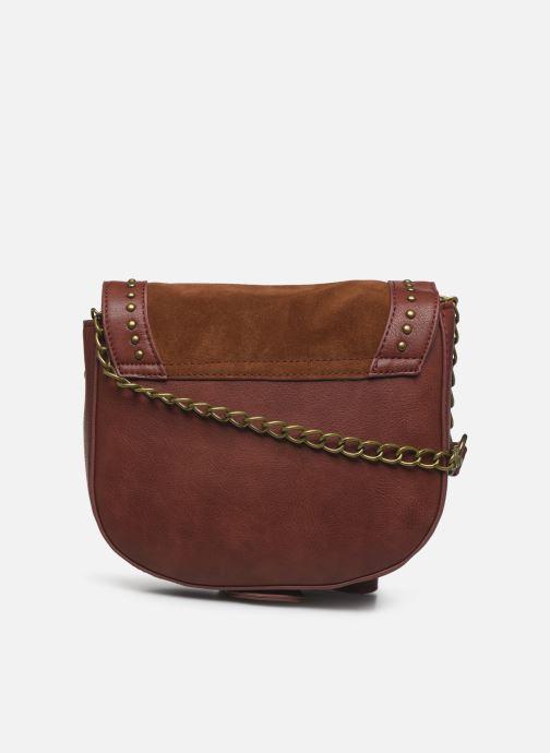 Handtaschen Pepe jeans Liona Bag braun ansicht von vorne