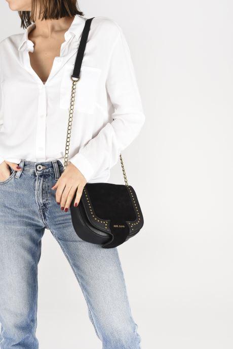 Sacs à main Pepe jeans Liona Bag Noir vue bas / vue portée sac
