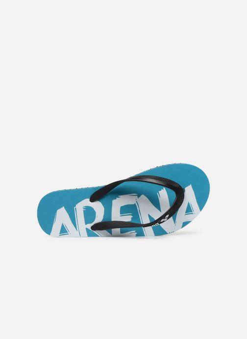 Zehensandalen Arena Arena Flip Flop W blau ansicht von links
