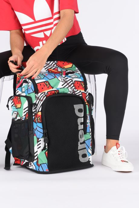 Mochilas Arena Team Backpack 45 Allover Multicolor vista de abajo