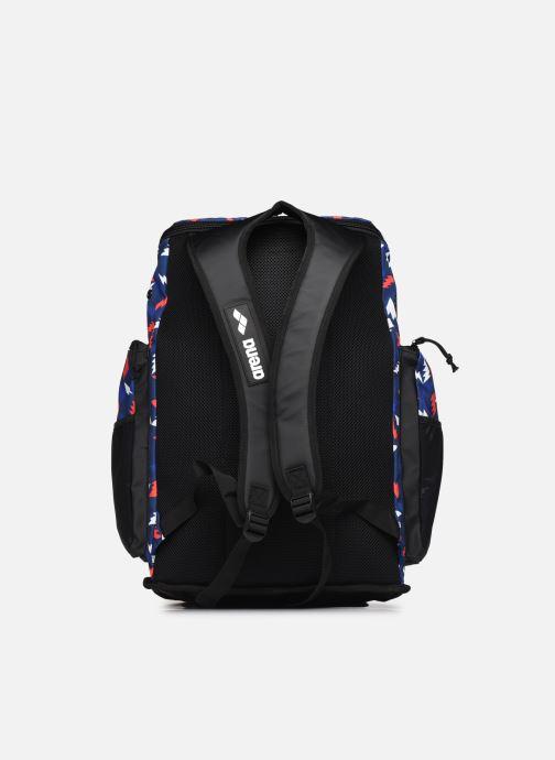 Sacs à dos Arena Team Backpack 45 Allover Bleu vue face