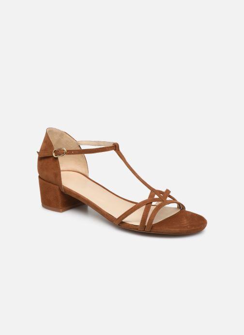 Sandales et nu-pieds Georgia Rose Episa Marron vue détail/paire