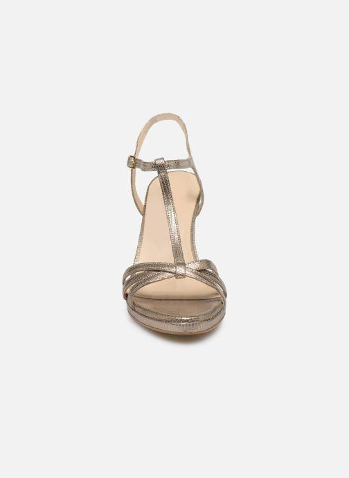 Sandales et nu-pieds Georgia Rose Ebrilla Or et bronze vue portées chaussures