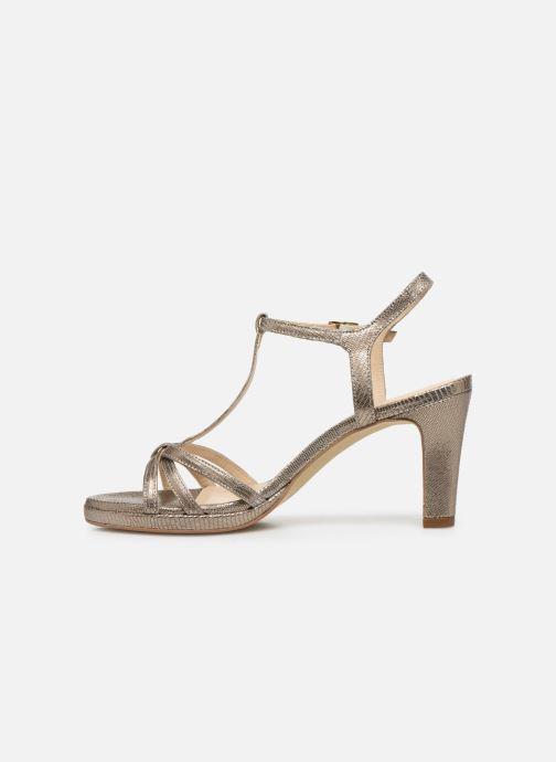 Sandales et nu-pieds Georgia Rose Ebrilla Or et bronze vue face