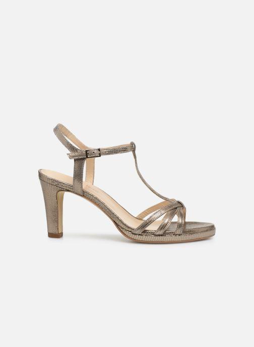 Sandales et nu-pieds Georgia Rose Ebrilla Or et bronze vue derrière