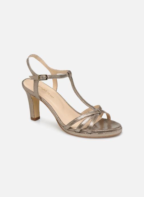 Sandales et nu-pieds Georgia Rose Ebrilla Or et bronze vue détail/paire