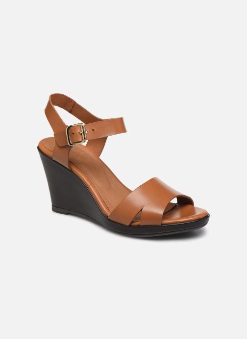 Sandales et nu-pieds Georgia Rose Efani Marron vue détail/paire