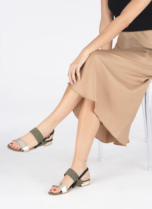 Sandali e scarpe aperte Georgia Rose Joulia Verde immagine dal basso