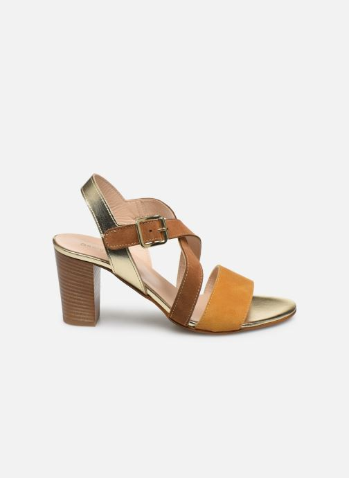 Sandales et nu-pieds Georgia Rose Jibou Marron vue derrière