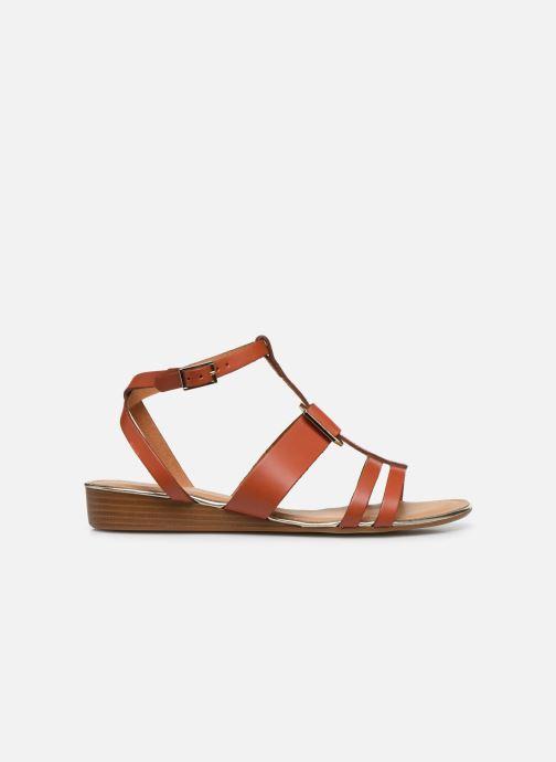 Sandales et nu-pieds Georgia Rose Liloute Marron vue derrière