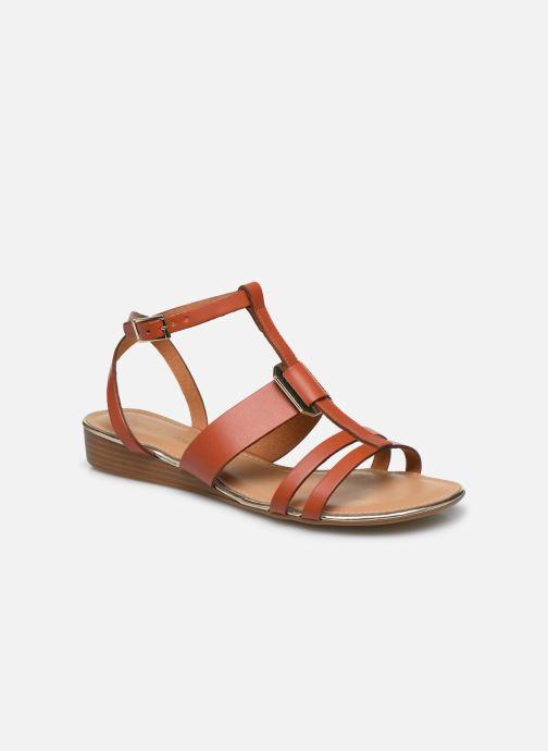 Sandales et nu-pieds Georgia Rose Liloute Marron vue détail/paire