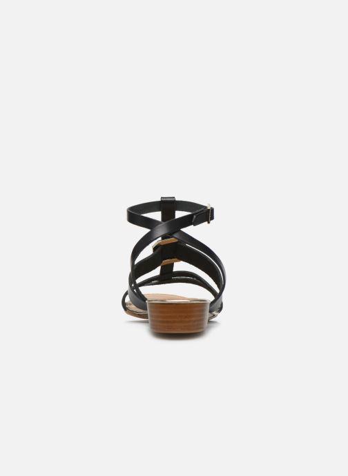 Sandales et nu-pieds Georgia Rose Liloute Noir vue droite