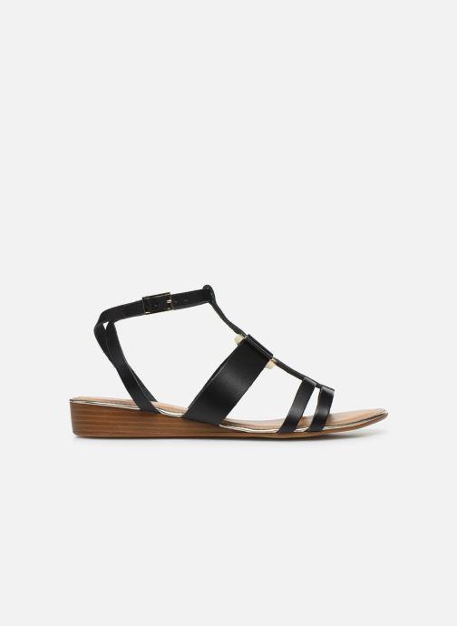 Sandales et nu-pieds Georgia Rose Liloute Noir vue derrière