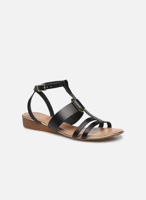 Sandales et nu-pieds Georgia Rose Liloute Noir vue détail/paire