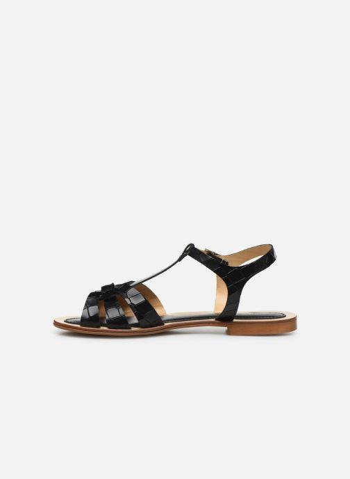 Sandali e scarpe aperte Georgia Rose Licroco Nero immagine frontale