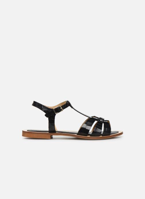 Sandali e scarpe aperte Georgia Rose Licroco Nero immagine posteriore