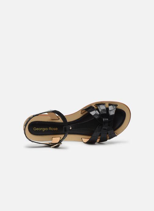 Sandali e scarpe aperte Georgia Rose Licroco Nero immagine sinistra