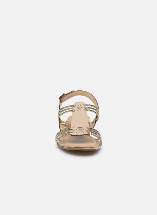 Sandales et nu-pieds Georgia Rose Libande Beige vue portées chaussures