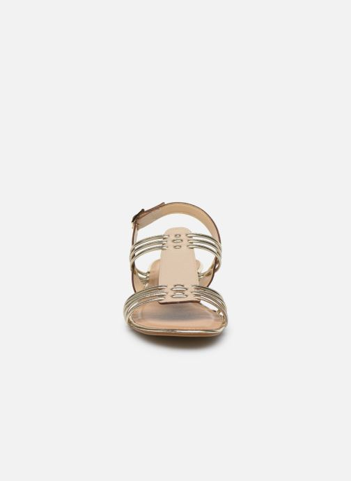 Sandalen Georgia Rose Libande beige schuhe getragen