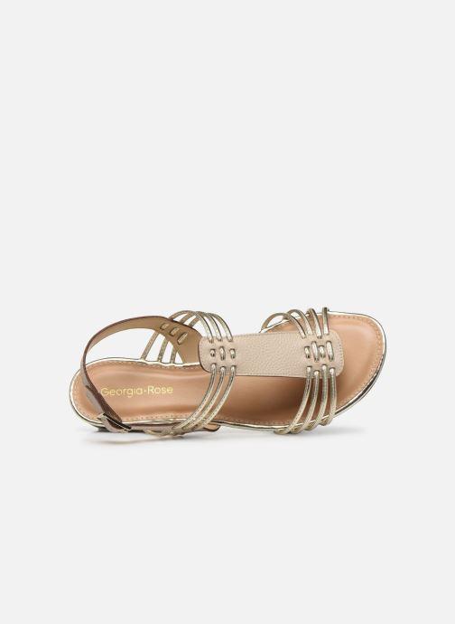 Sandales et nu-pieds Georgia Rose Libande Beige vue gauche