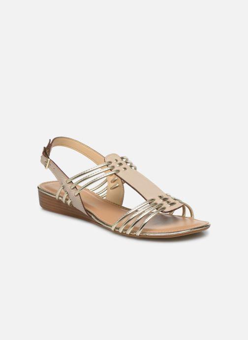 Sandales et nu-pieds Georgia Rose Libande Beige vue détail/paire