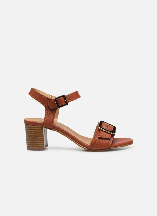 Sandales et nu-pieds Georgia Rose Libouma Marron vue derrière