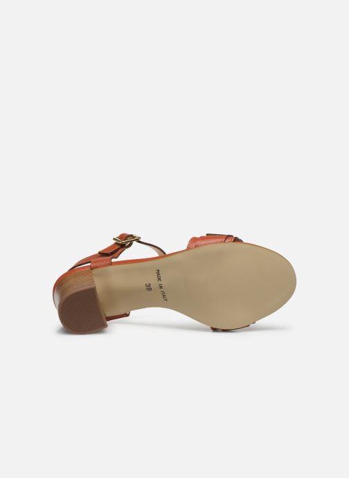 Sandales et nu-pieds Georgia Rose Libouma Marron vue haut
