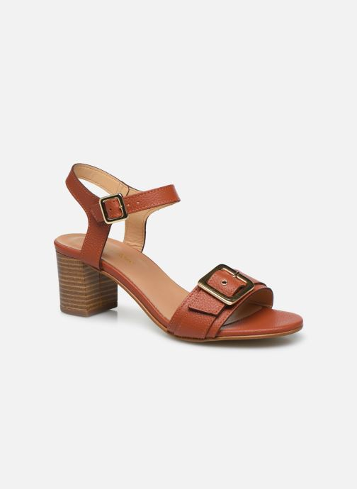 Sandales et nu-pieds Georgia Rose Libouma Marron vue détail/paire