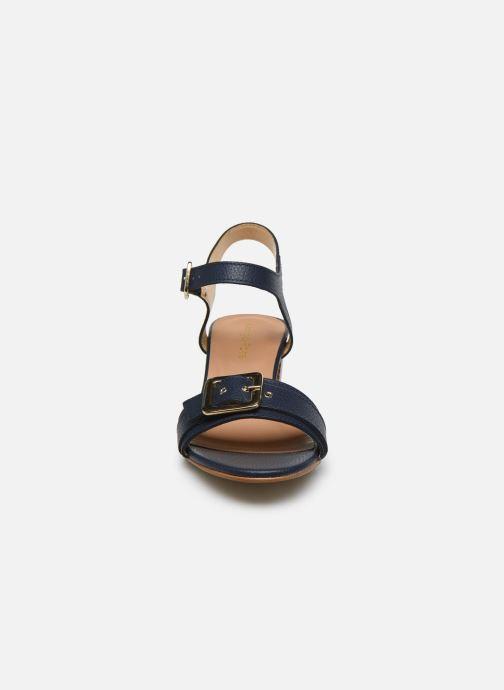 Sandales et nu-pieds Georgia Rose Libouma Bleu vue portées chaussures
