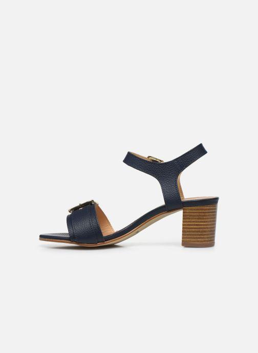 Sandales et nu-pieds Georgia Rose Libouma Bleu vue face