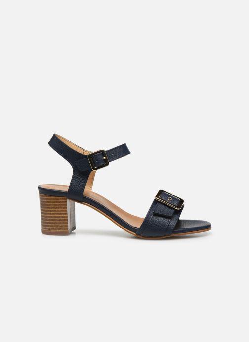 Sandales et nu-pieds Georgia Rose Libouma Bleu vue derrière