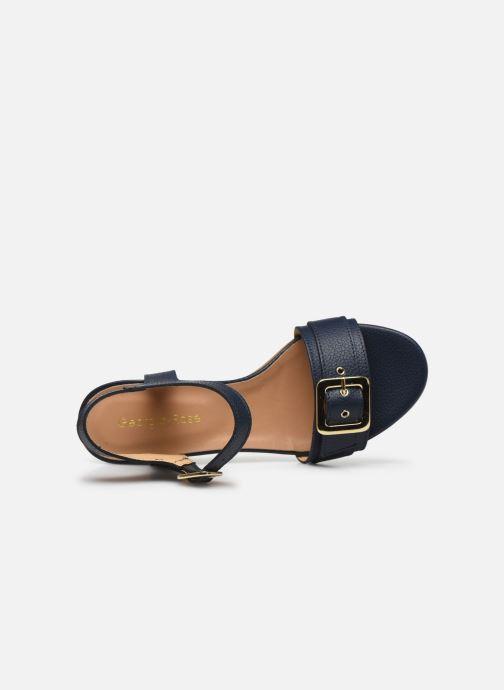 Sandales et nu-pieds Georgia Rose Libouma Bleu vue gauche