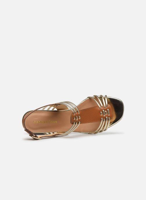 Sandali e scarpe aperte Georgia Rose Lirma Oro e bronzo immagine sinistra