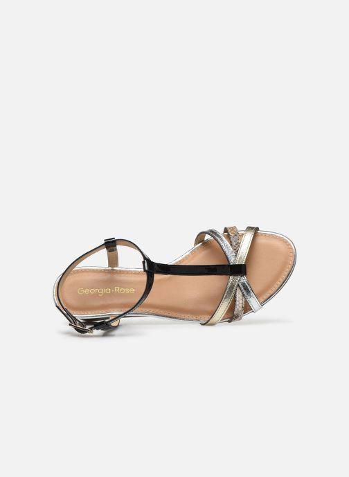 Sandales et nu-pieds Georgia Rose Loulato Noir vue gauche
