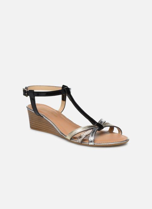 Sandales et nu-pieds Georgia Rose Loulato Noir vue détail/paire