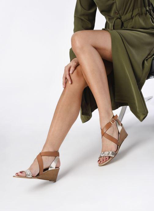 Sandali e scarpe aperte Georgia Rose Lipent Marrone immagine dal basso