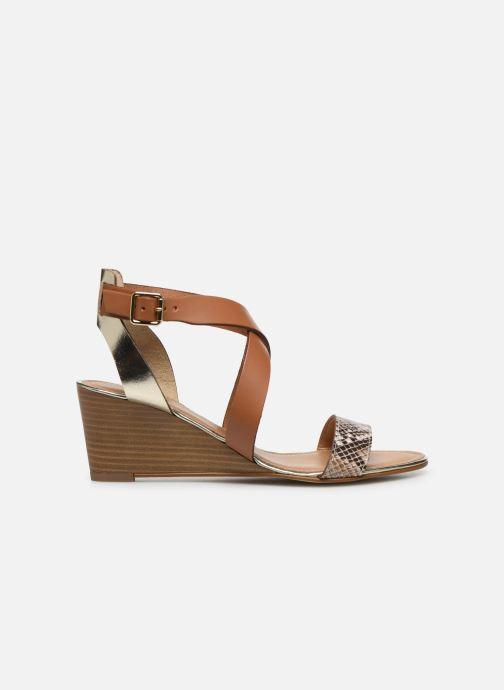 Sandali e scarpe aperte Georgia Rose Lipent Marrone immagine posteriore