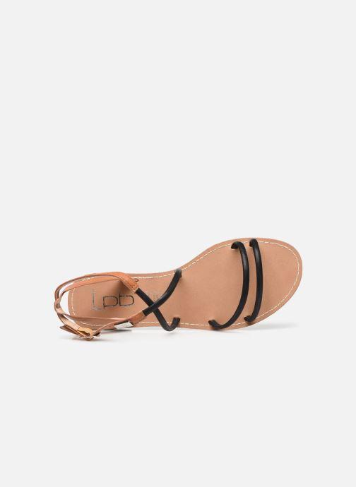 Sandali e scarpe aperte LPB -LES PETITES BOMBES EDEN Nero immagine sinistra
