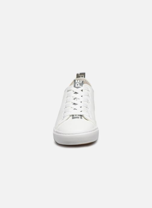 Baskets LPB -LES PETITES BOMBES KELLY Blanc vue portées chaussures