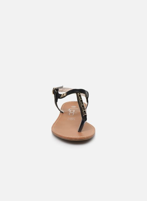 Sandales et nu-pieds LPB -LES PETITES BOMBES MANEL Noir vue portées chaussures