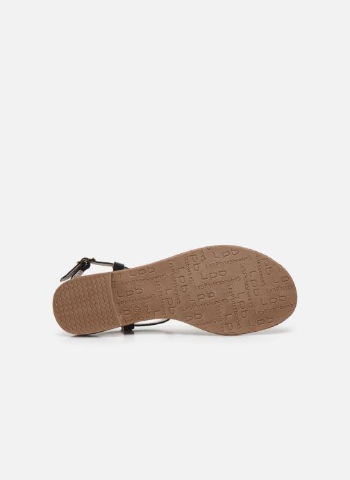 Sandales et nu-pieds LPB -LES PETITES BOMBES MANEL Noir vue haut