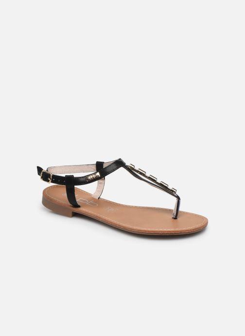 Sandales et nu-pieds LPB -LES PETITES BOMBES MANEL Noir vue détail/paire