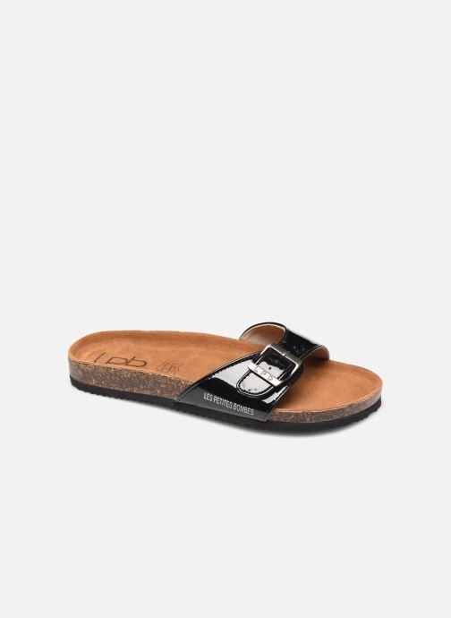 Sandales et nu-pieds LPB -LES PETITES BOMBES ROSA Noir vue détail/paire