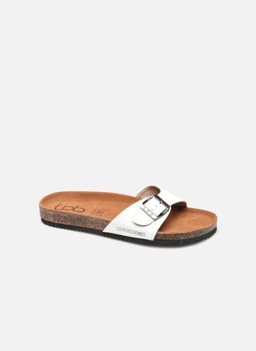 Sandales et nu-pieds LPB -LES PETITES BOMBES ROSA Blanc vue détail/paire