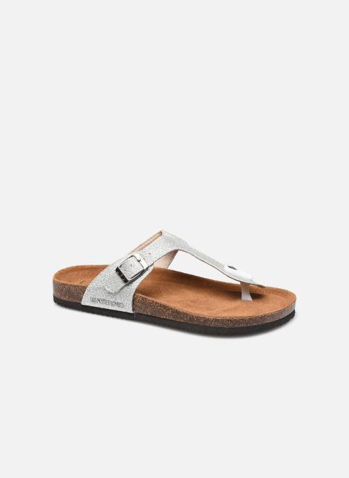 Sandales et nu-pieds LPB -LES PETITES BOMBES TANIA Argent vue détail/paire